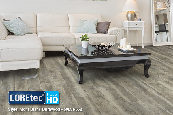 ... Unique and Sustainable Floors from COREtec Plus® HD