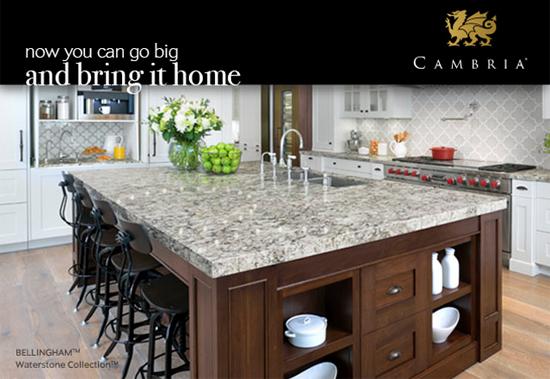 Cambria Quartz - Bellingham - Waterstone Collection™