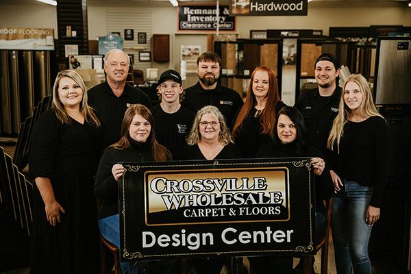 Crossville Wholesale Carpet & Floors Staff